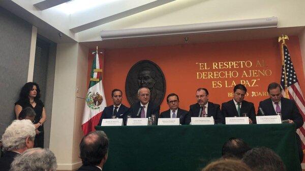 Trump Guajardo Videgaray TLCAN