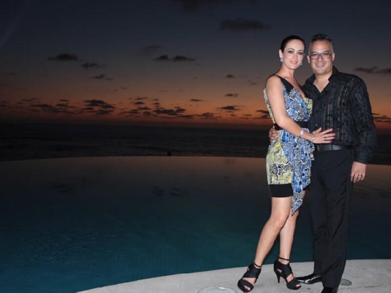 La guapa actriz se confiesa locamente enamorada de su esposo Gregorio Jiménez.