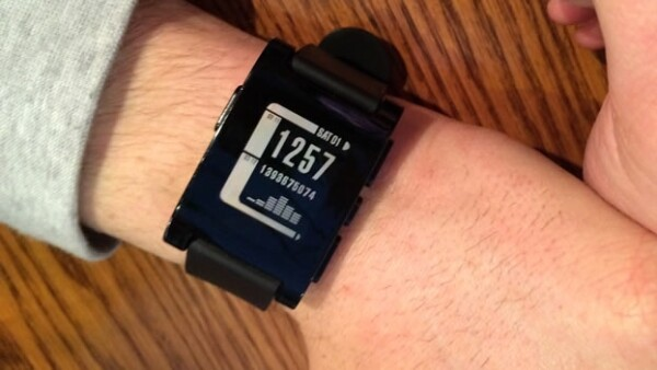 pebble watch kickstarter