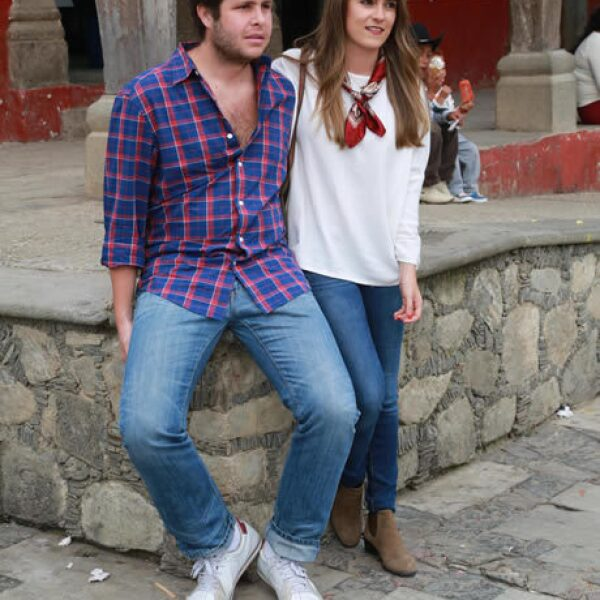 Isaac Ramos y Ana Gabriela Cervantes