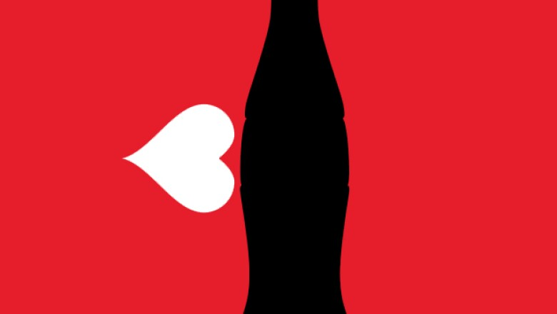 Mash-Up de la botella Coca-Cola
