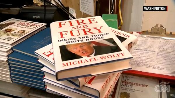 """""""Fuego y furia"""", el libro que describe a Trump como un hombre solo y despreciado"""