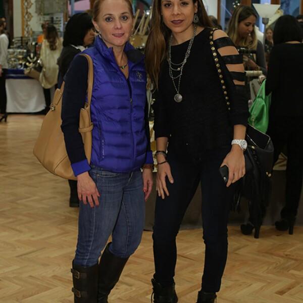 Rocío e Irma Torres