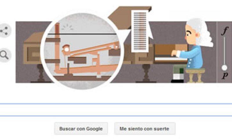Google recuerda al inventor del 'pianoforte' a 360 años de su nacimiento. (Foto: Google.com )
