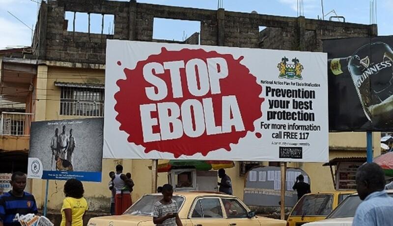 campaña ébola África
