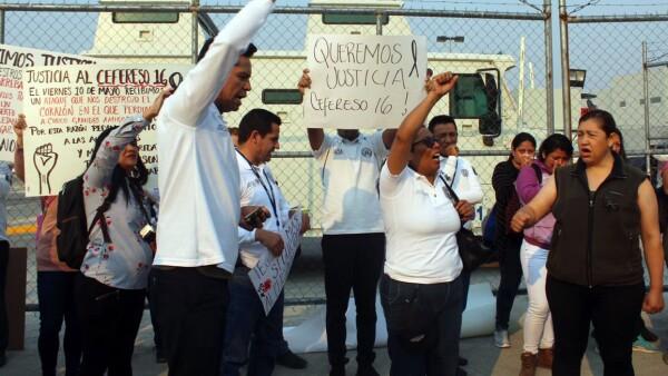 Protesta Cefereso 16