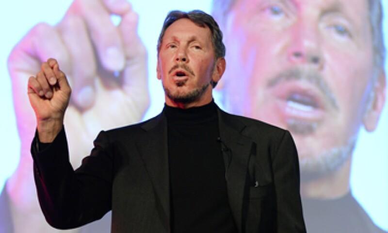 Larry Ellison, ex CEO de Oracle, se ha casado en cuatro ocasiones y tiene dos hijos.  (Foto: AFP)