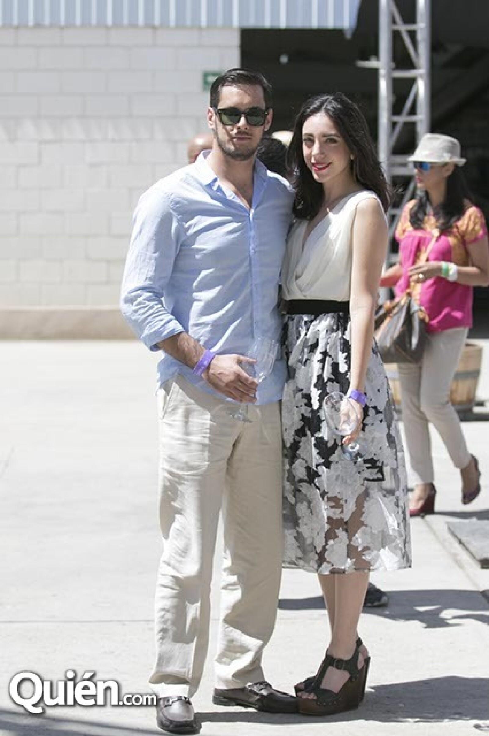 Guillermo Krsovsky y Daniela Blancas