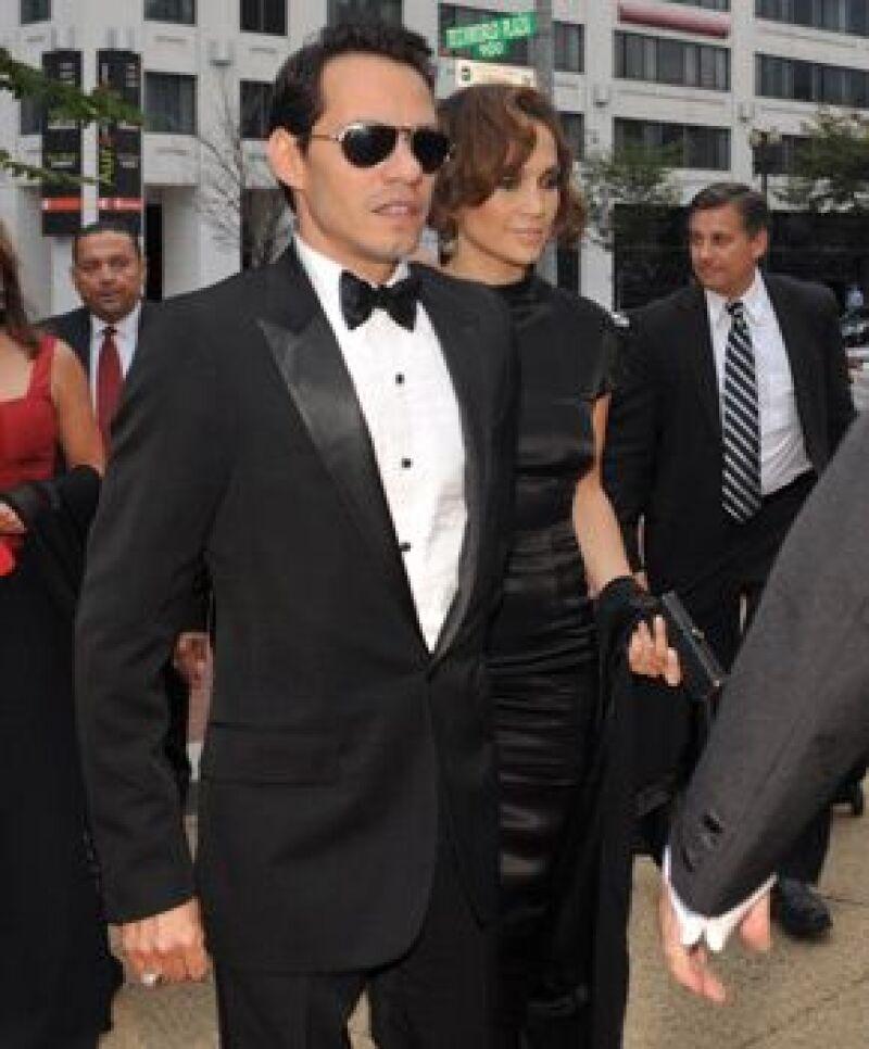 Muy guapa, la pareja llegó tomada de la mano a la gala.