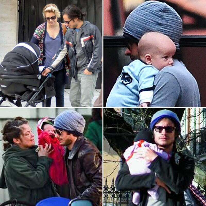 Gael García y Dolores Fonzi tienen dos hijos juntos, Lázaro y Libertad.