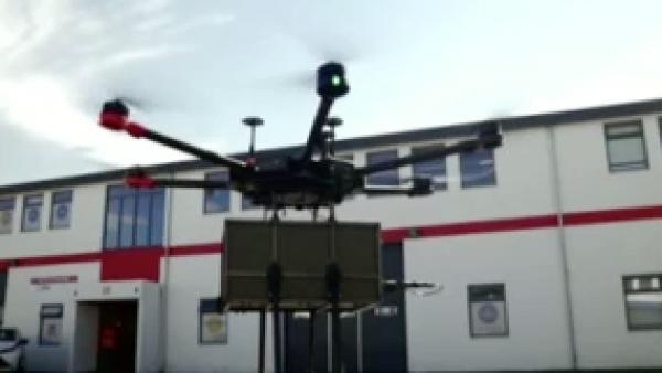 La entrega de paquetes con drones es ya una realidad
