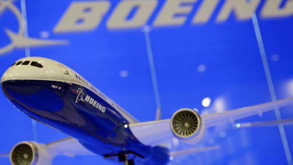 Boeing avi�n a escala