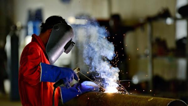 Welder engineer workshop