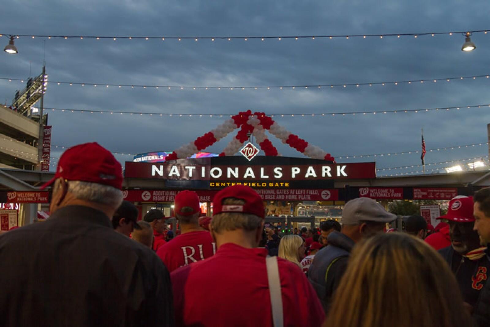 Uno de los momentos más emotivos fue cuando llegamos al estadio, el ambiente no podía ser mejor.