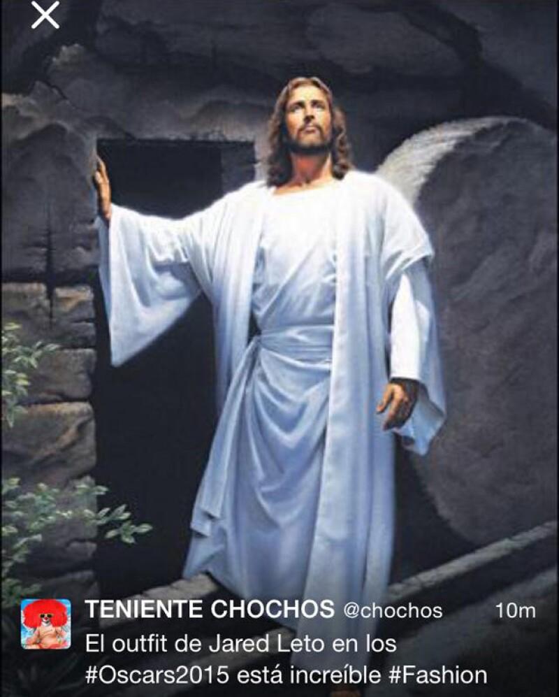 Comparar a Jared Leto con Jesús es uno de los memes más recurrentes en Internet.