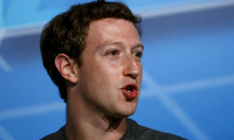 """Mark Zuckerberg tiene 49 millones de """"amigos"""" en México. (Foto: Reuters)"""