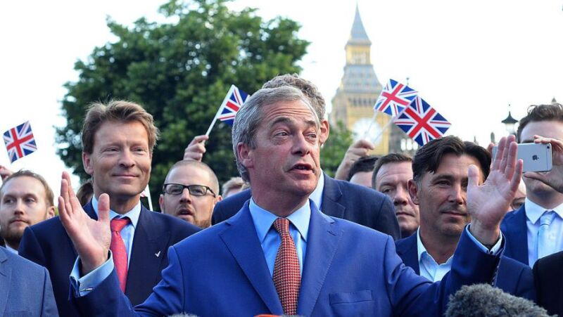 Farage impulsó la salida británica de Reino Unido desde hace varias décadas.