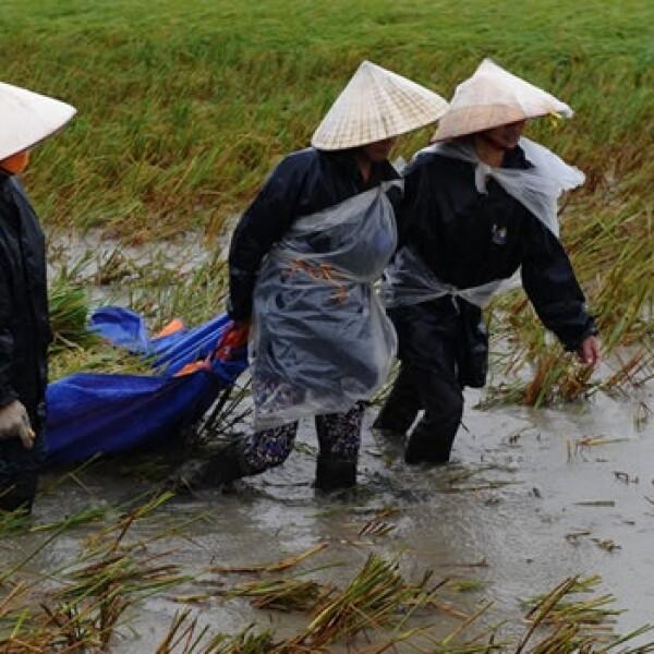 tormenta, inundaciones, asia, vietnam