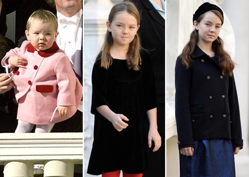 Alexandra de Hannover sí es Princesa, a diferencia de su media hermana Carlota.