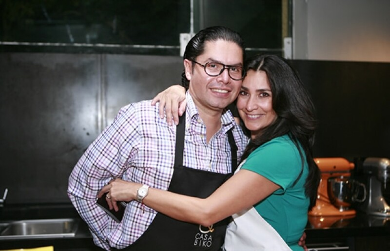 Francisco Moreno y Fernanda Mejía.