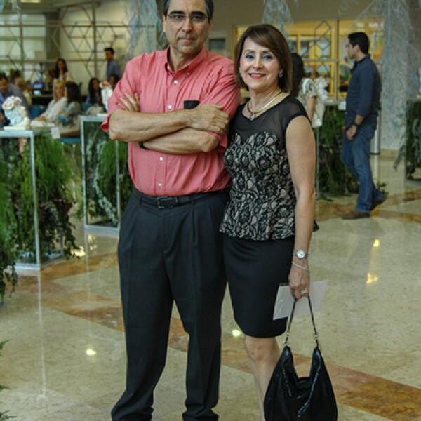 Javier Elizondo y Alicia Treviño.