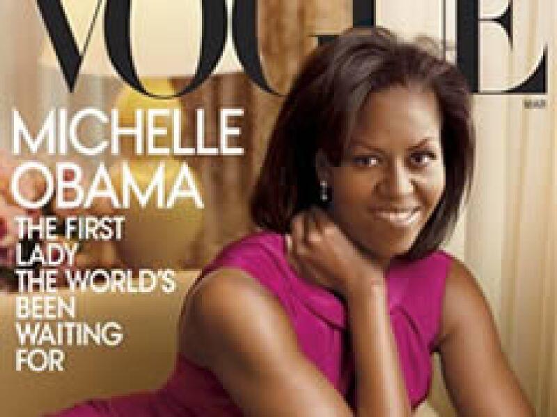 Michelle Obama asegura que le encanta la moda y sabe qué le queda bien, según directivos de Vogue. (Foto: AP)