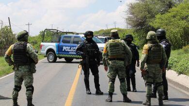 Cinco policías murieron en una emboscada en la comunidad de El Chamizal.