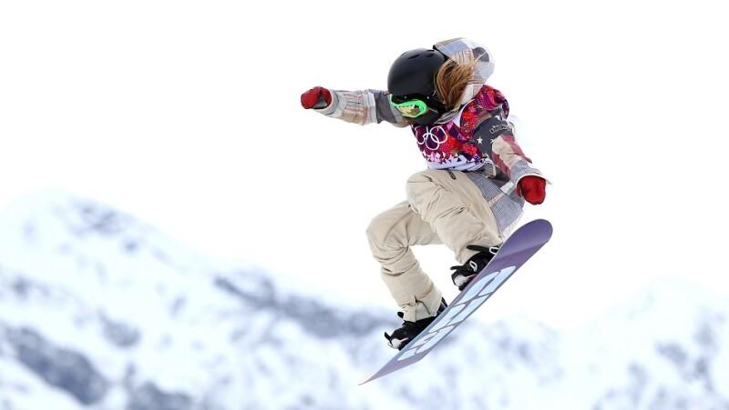 Jamie Anderson de Estados Unidos ganó el primer oro en la historia del slopestyle femenino