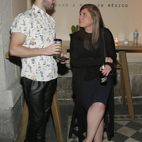 Patricio Campillo y Lorena Saravia