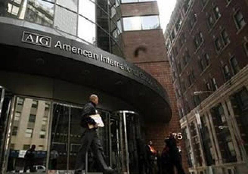 La aseguradora, AIG, busca regresar su rescate a través de dar participaciones accionarias a la Reserva del Tesoro en Nueva York. (Foto: Reuters)