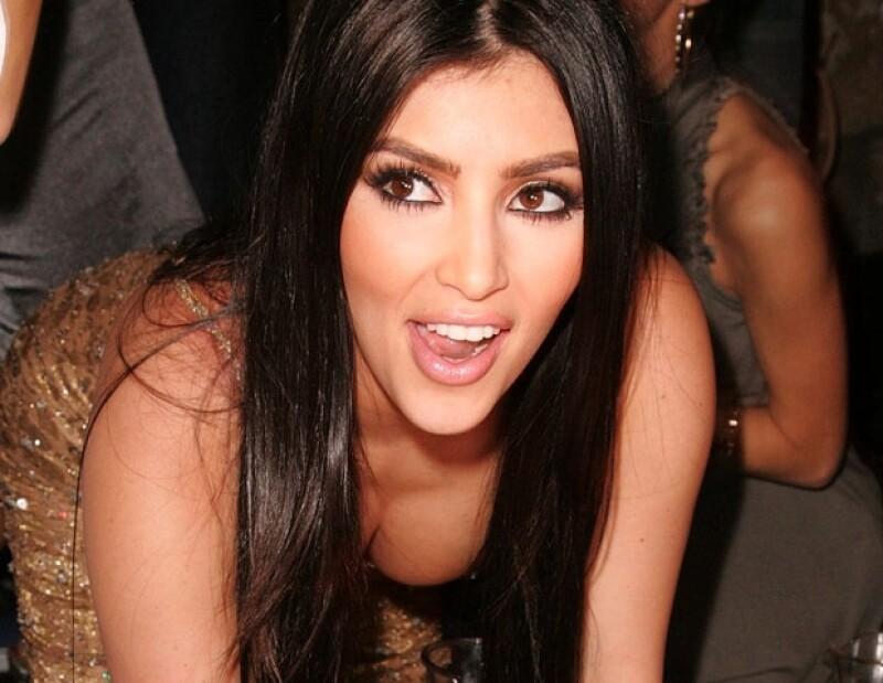 Kim era una de las mejores amigas de Paris Hilton.