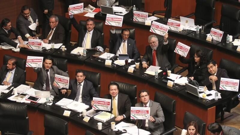 Senadores-PRD