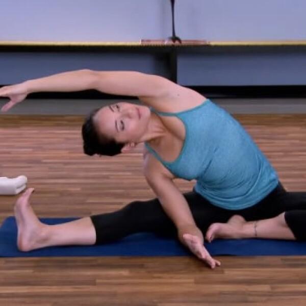flexion sentada yoga