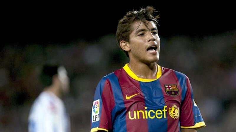 jugador mexicano en el barcelona