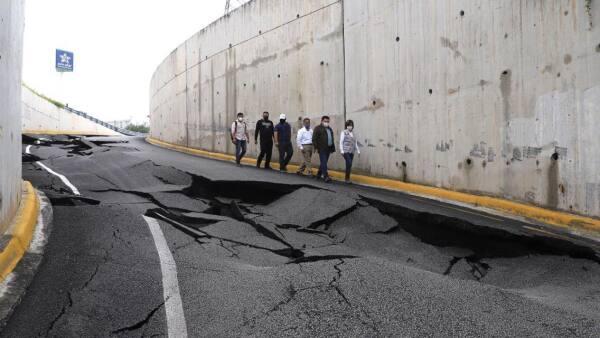 Nuevo León tras tormenta