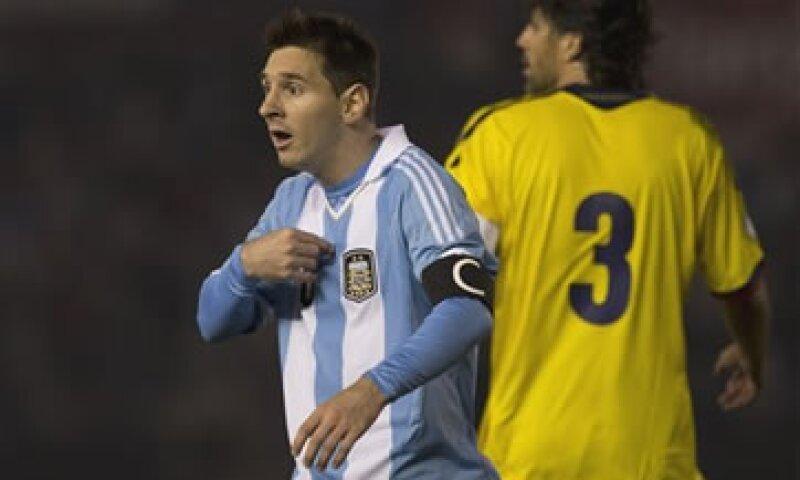 Lionel Messi, de ascendencia argentina, actualmente milita en el club Barcelona.  (Foto: Reuters)
