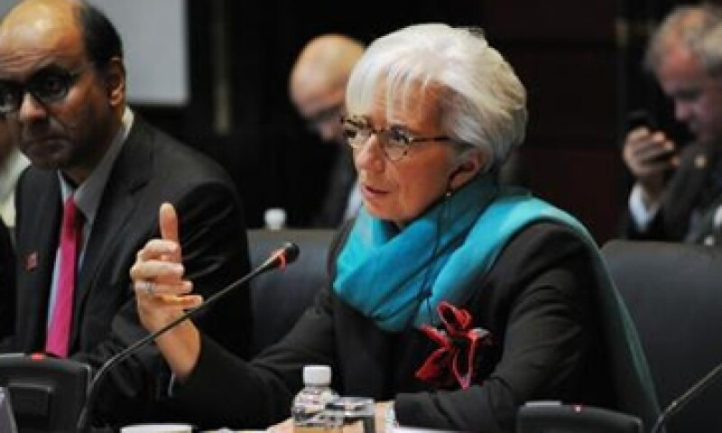 Lagarde aseguró que el FMI no está obsesionado con alcanzar los 500,000 mdd para fortalecerse. (Foto: Tomada del sitio www.g20.org)