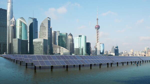 Energía solar - energía - Asia - Shanghai - China - energía en Asia - energía solar en China