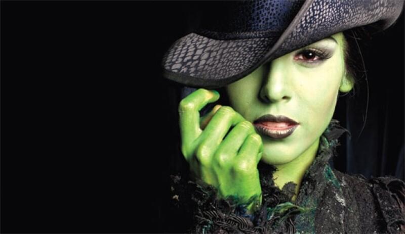 Actualmente Danna Paola demuestra su talento en el musical Wicked.