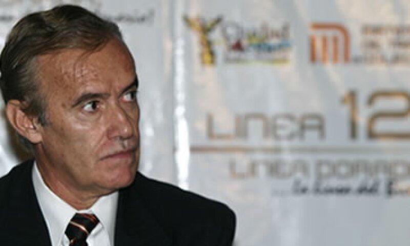 Horcasitas se desempeñaba como director general del Proyecto Metro. (Foto: Cuartoscuro)