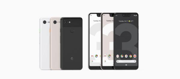 Los nuevos Pixel 3 y Pixel 3XL