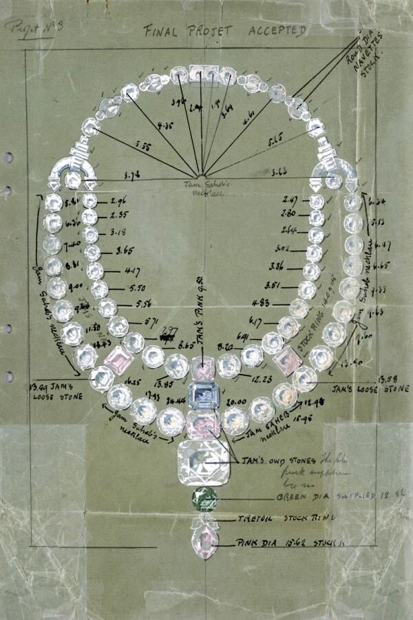 Collar Cartier en Ocean's 8