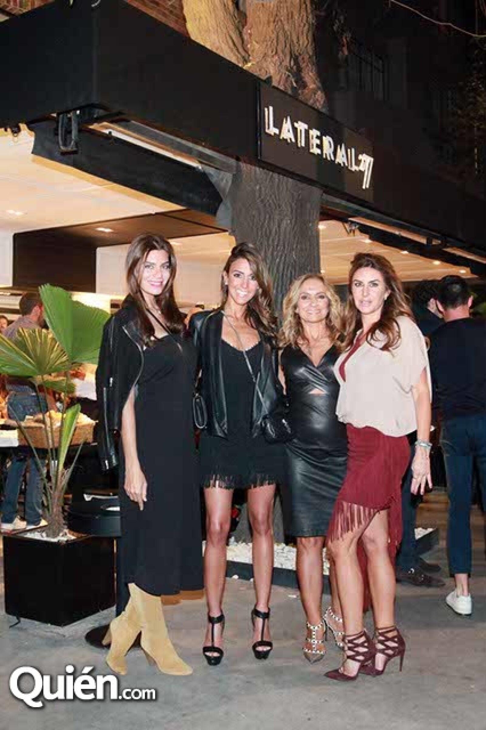 Tania Ladeiro,Roberta Hakim,Carmen Morfin y Alejandra Fountanet