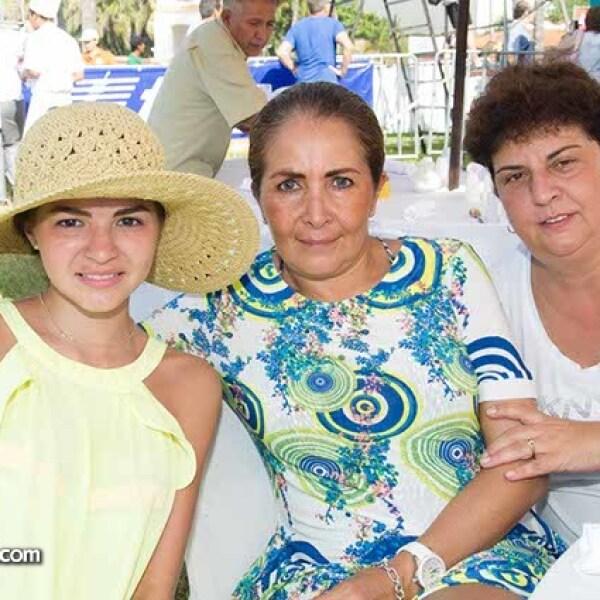 Paulina Ramírez, Gabriela Marín y Laura Palmer
