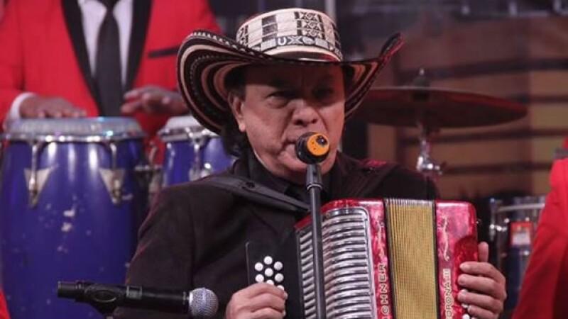 El músico colombiano alcanzó el éxito interpretando cumbias como 'El campanero' y 'Cumbia sampuesana'