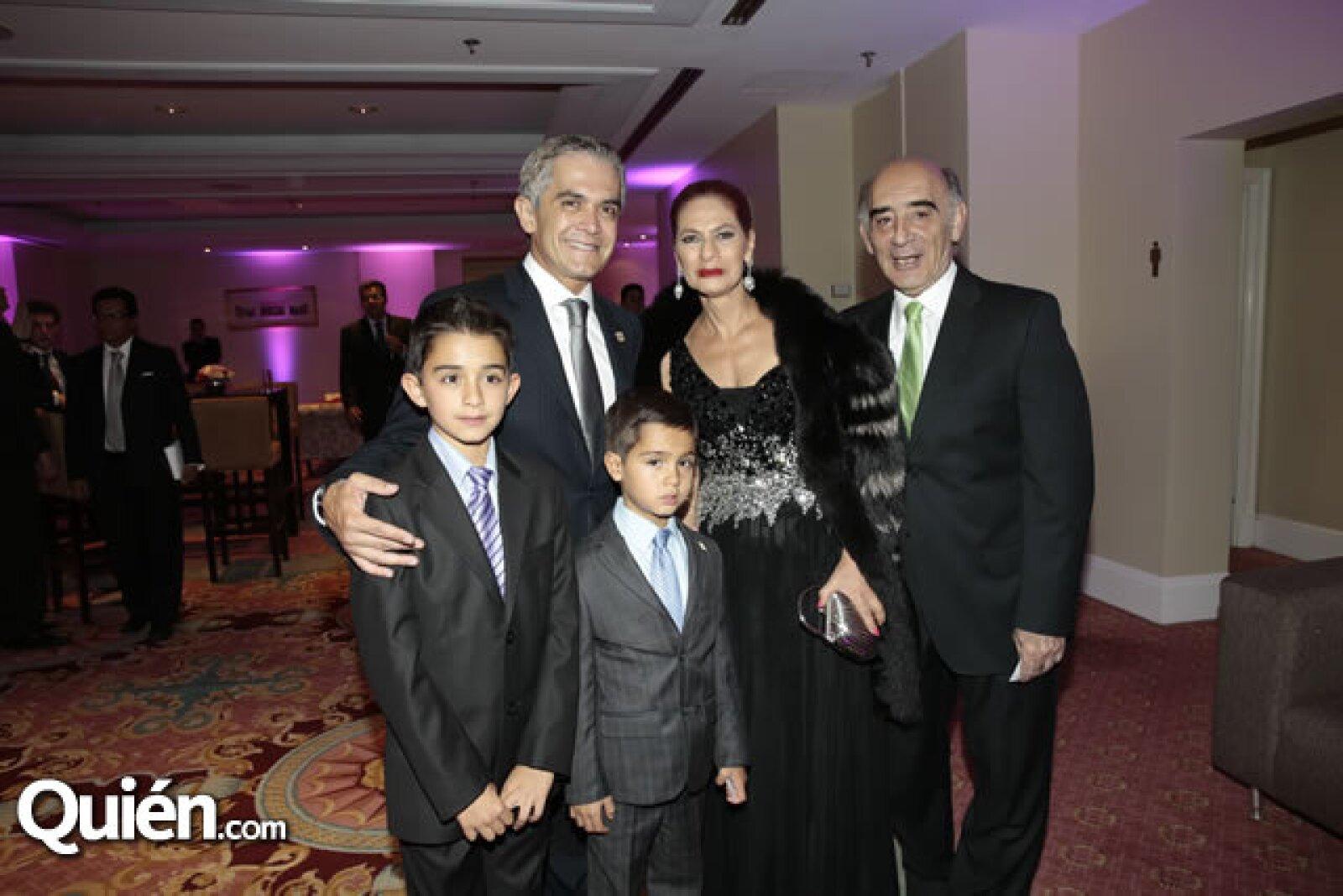 Miguel Ángel Mancera,Teresa Said,Ignacio Said,Miguel Mancera,Leonardo Mancera