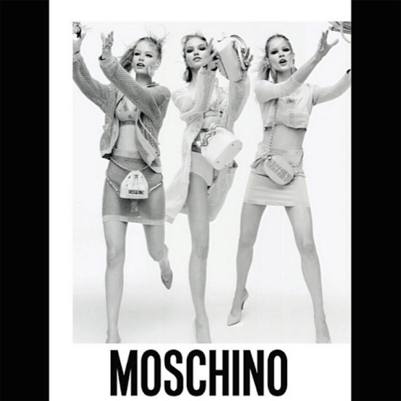 En la campaña de Moschino, cometieron el catastrófico error de desaparecer una de las piernas de la modelo.