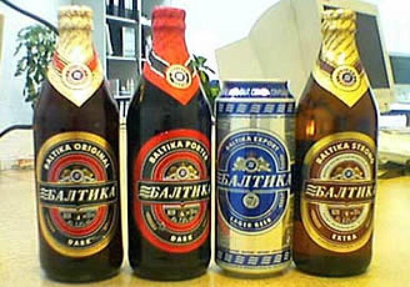 Baltika es la cerveza más vendida y conocida de Rusia.  (Foto: Cortesía Baltika-Carlsberg)