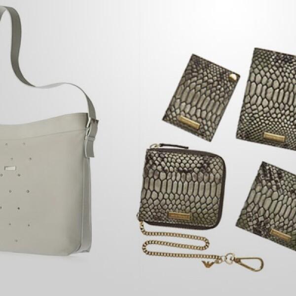 Los estampados 'animal print' siguen a la orden del día en los complementos; aquí en una serie de accesorios para llevar el pasaporte, billetera, monedero, entre otros. Lo recomendamos con este bolso, listo para tus viajes.