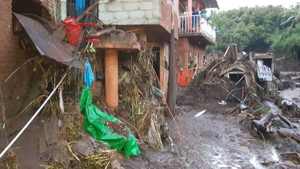 Peribán Michoacán lluvias